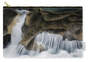 Rocks In Paradise Carry-all Pouch by Inge Johnsson