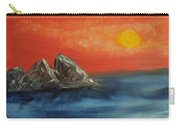 Rocks In The Flathead Lake Carry-all Pouch