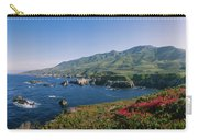 Rocks In The Sea, Carmel, California Carry-all Pouch