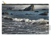 Rocks In The Surf Carry-all Pouch
