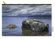 Rocks In The Water On A Lake In Acadia National Park Carry-all Pouch