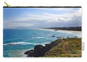 Rocks Ocean Surf And Sun Carry-all Pouch