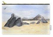 Rocks On Beach Carry-all Pouch