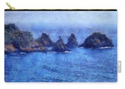 Rocks On Isle Of Guernsey Carry-all Pouch