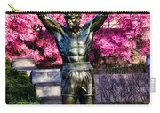 Rocky Among The Cherry Blossoms Carry-all Pouch
