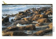 Rocky Beach At Sunrise Carry-all Pouch