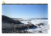 Rocky Beach Carry-all Pouch by Barbara Snyder