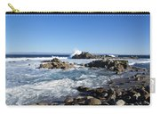 Rocky Beach On 17 Mile Drive Carry-all Pouch