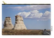 Rocky Buttes Protrude From The Middle Of Arizona Landscape Carry-all Pouch