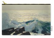 Rocky Coast And Sea Carry-all Pouch