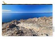 rocky coast in San Pietro island Carry-all Pouch
