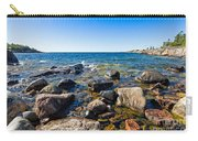 Rocky Cove At Lake Superior North Shore Carry-all Pouch