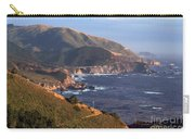 Rocky Creek Bridge In Big Sur Carry-all Pouch by Charlene Mitchell