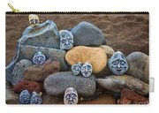 Rocky Faces In The Sand Carry-all Pouch