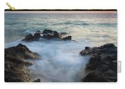 Rocky Inlet Sunset Carry-all Pouch by Mike  Dawson