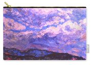 Rocky Knob Clouds Carry-all Pouch
