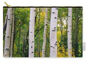Rocky Mountain Aspen Forest Carry-all Pouch
