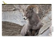 Rocky Mountain Big Horn Sheep Ram Carry-all Pouch