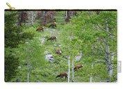 Rocky Mountain Elk Herd Carry-all Pouch