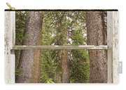 Rocky Mountain Forest Window View Carry-all Pouch