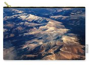 Rocky Mountain Peaks From Above Carry-all Pouch