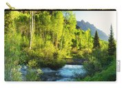 Rocky Mountain River Carry-all Pouch