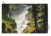 Rocky Mountain Waterfall Carry-all Pouch