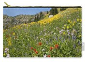 Rocky Mountain Wildflower Landscape Carry-all Pouch