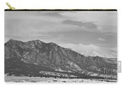 Rocky Mountains Flatirons And Longs Peak Panorama  2 Carry-all Pouch