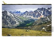 Rocky Mountains In Jasper National Park Carry-all Pouch by Elena Elisseeva