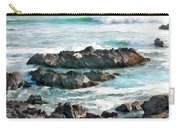 Rocky Ocean Shoreline One Carry-all Pouch