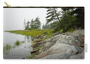 Rocky Shore By The Narrows To Mount Desert Island Carry-all Pouch