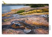 Rocky Shore Of Georgian Bay Carry-all Pouch