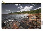 Rocky Shore Of Georgian Bay I Carry-all Pouch by Elena Elisseeva