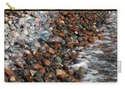 Rocky Shoreline Abstract Carry-all Pouch