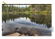 Rocky Shores At Swim Lake Carry-all Pouch