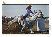 Rodeo Barrel Racer Carry-all Pouch