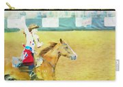 Rodeo Beauty Three Carry-all Pouch