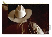 Rodeo Cowboy Carry-all Pouch by Olivier Le Queinec