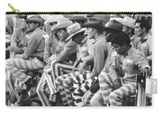 Rodeo Cowboy Prisoners Carry-all Pouch