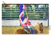 Rodeo Flag Carry-all Pouch