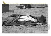 Rodeo Gunslinger Victim Bw Carry-all Pouch