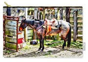 Rodeo Horse Three Carry-all Pouch