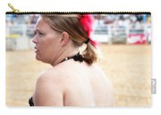 Rodeo Saloon Girl Profile Carry-all Pouch