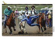 Rodeo Steer Wrestling Carry-all Pouch