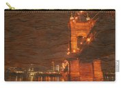 Roebling Bridge Stone N Wood Carry-all Pouch