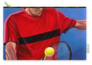 Roger Federer The Swiss Maestro Carry-all Pouch