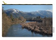 Rogue River And Mt Baldy In Winter Carry-all Pouch