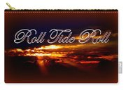 Roll Tide Roll W Red Border - Alabama Carry-all Pouch