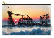 Roller Coaster After Sandy Carry-all Pouch by Tony Rubino